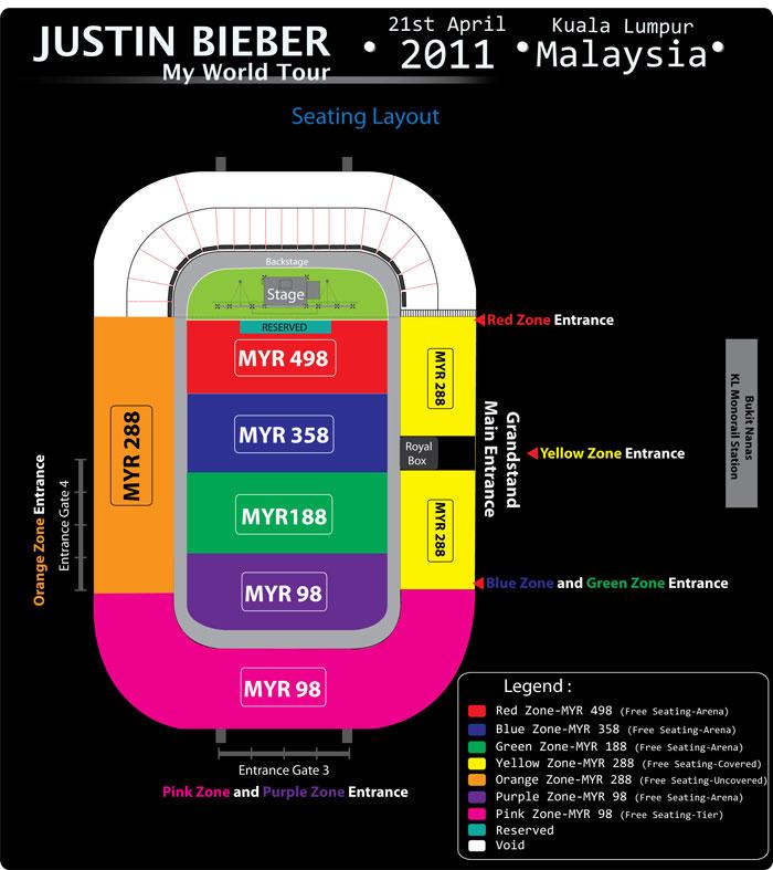 Jb Live In Malaysia Justin Bieber Malaysia